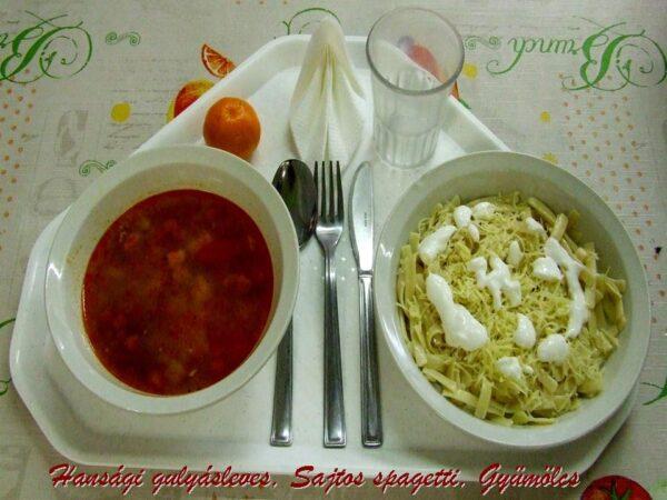 Sajtos spagetti