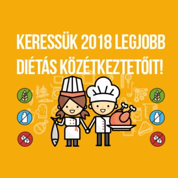 Fókuszban a speciális diétás étkezés és az ehhez kapcsolódó étlaptervezés. Keressük 2018 legjobb diétás közétkeztetőit!