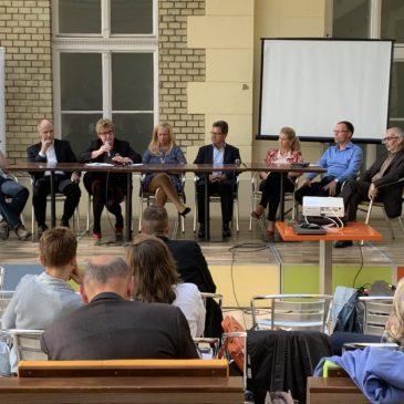 Szakmai beszélgetés zajlott az egészségügyi adatok értelmezéséről, az OGYÉI részvételével
