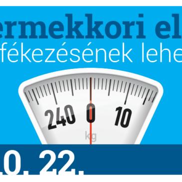 Konferenciát szervez az OGYÉI a gyermekkori elhízás megfékezésének lehetőségeiről