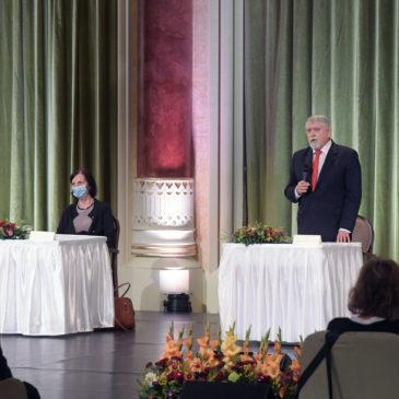 Az Egészségügyi Szakmai Kollégium Dietetika, humán táplálkozás tagozatának elnöke Zentai Andrea, titkára Varga Anita lett