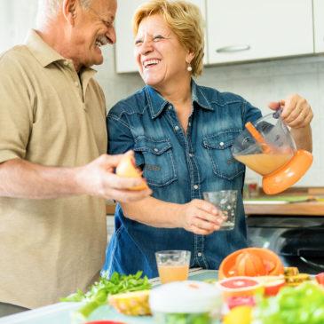 Zöldségekre és gyümölcsökre vonatkozó ajánlás, 60 éves kor felett – 1. rész