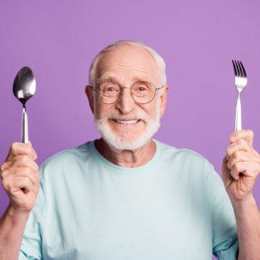 Mennyit kell enni 60 éves kor felett?