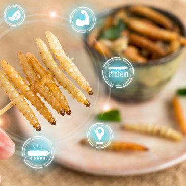 Ehető rovarok: új élelmiszerek tudományos értékelése